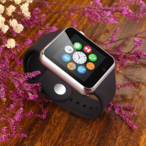A1 Bluetooth Smart Watch Phone avec Sleep Monitor Pédomètre Camera Single SIM - Noir