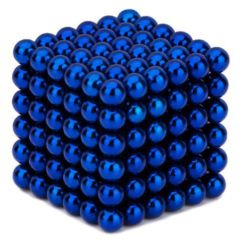 Online 216 Pcs 3mm Education Toys Magnet Toys Multi Molding Buckyballs - DEEP BLUE  Mobile