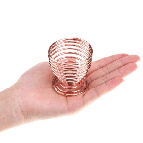 Affordable Stencil Egg Shape Breathable Sponge Puff Drying Rack - ROSE GOLD  Mobile