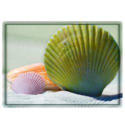 Beach Shell Water Absorbing Bathroom Floor Mat