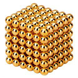 216 Pcs 3mm Education Toys Magnet Toys Multi Molding Buckyballs - GOLDEN