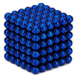 216 Pcs 3mm Education Toys Magnet Toys Multi Molding Buckyballs - DEEP BLUE