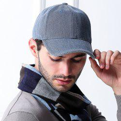 Cotton Blending Sunproof Pinstriped Baseball Cap