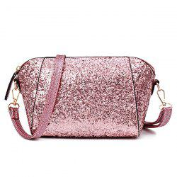 Sequins Glitter Cross Body Bag - PINK