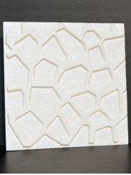 3D Stereo Embossed Brick Wall Sticker - WHITE