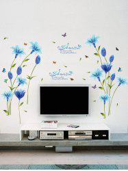 Lily Flower Vinyl Wall Art Sticker
