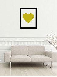 Heart Photo Frame Decorative Wall Sticker