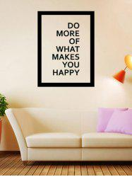 Do More Quote Wall Decal