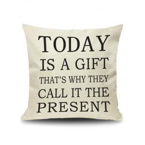 Today Letter Quote Printed Pillow Cover Case