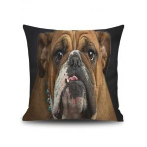 Pug Printed Cushion Cover Pillow Case