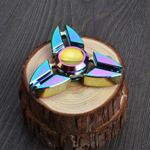 Colorful Stress Relief Toy Hand Tri-Spinner Gyro à doigts -