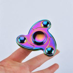 Colorful Focus Toy Triangle Finger Fidget Spinner - Colormix - 6.5*6.5*1.7cm