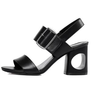 Slingback Belt Buckle Sandals -