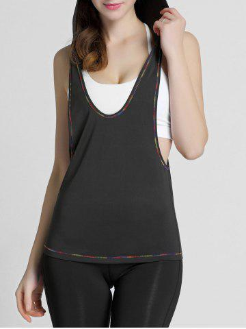 Shops Hooded Running Workout Gym Tank Top BLACK S