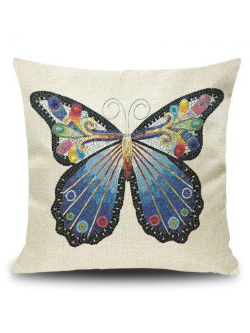 Hot Art Butterfly Throw Pillowcase Cover - 45*45CM PALOMINO Mobile
