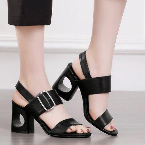 Store Slingback Belt Buckle Sandals