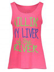 My Liver At The River Graphic Tank Top -