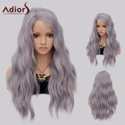 Adiors Long Side Part Shaggy Big Wave Heat Resistant Synthetic Wig