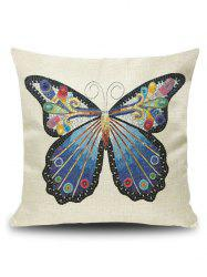 Art Butterfly Throw Pillowcase Cover - PALOMINO