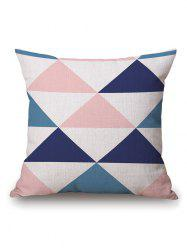 Geometry Print Throw Decorative Pillow Case