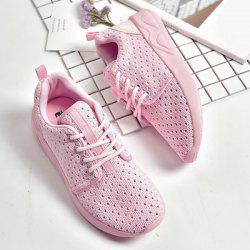 Mesh Breathable Athletic Shoes - PINK