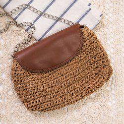 Straw Woven Cross Body Bag