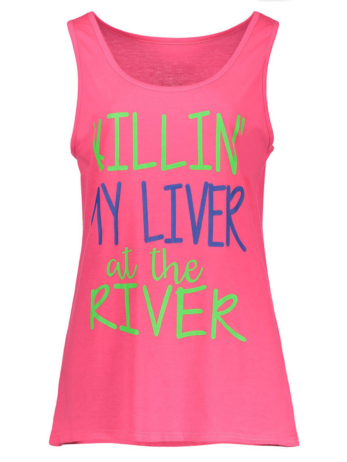 Buy My Liver At The River Graphic Tank Top