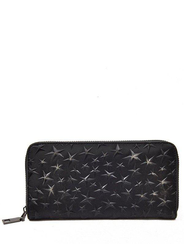 Best Star Embossing Clutch Wallet
