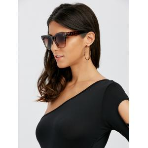 UV Protection Ombre Wide Wayfarer Sunglasses