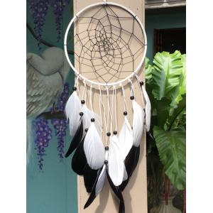 Dreamcatcher Feather Beads Circle Hang Home Decoration
