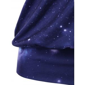Galaxy Skew Collar T-Shirt -