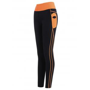 Ankle Length High Waisted Gym Leggings