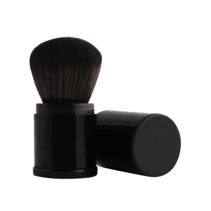 MAANGE Telescopic Tube Nylon Blush Brush - BLACK