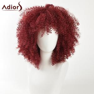 Adiors Medium Fashion Shaggy Afro Kinky Curly Synthetic Hair