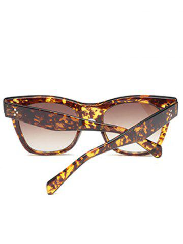 Best UV Protection Ombre Wide Wayfarer Sunglasses - LEOPARD+BROWN  Mobile