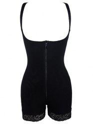 Padded Butt Backless Corset Bodysuit