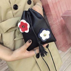 Tassel Flower Mini Crossbody Bag