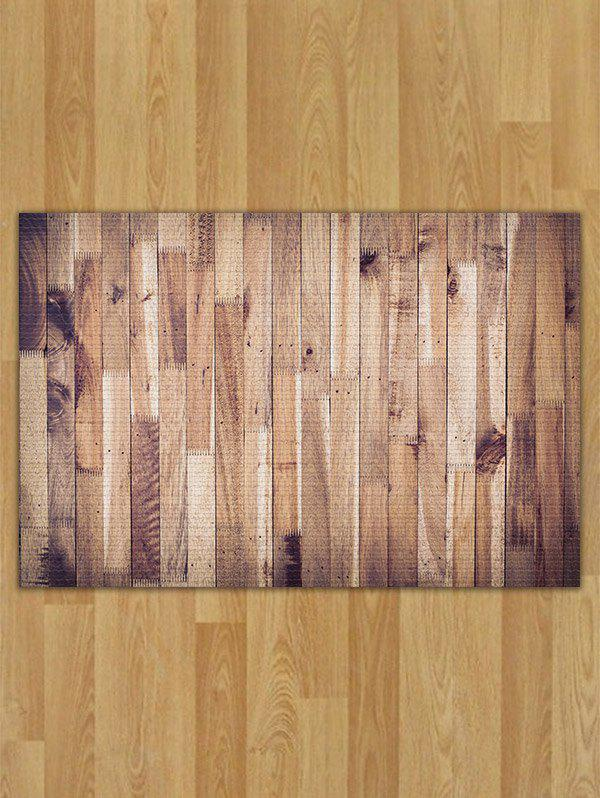 Wood Color W16 Inch L24 Inch Wood Pattern Flannel