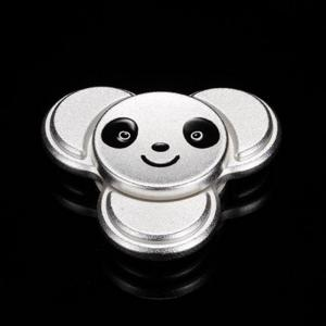 Stress Relief Toy Panda Pattern Metal Finger Gyro