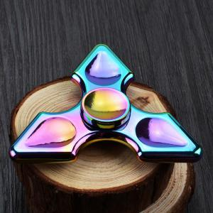 Colorful Metal Hand Fidget Spinner Stress Relief Toy - COLORFUL 8.5*8.5CM