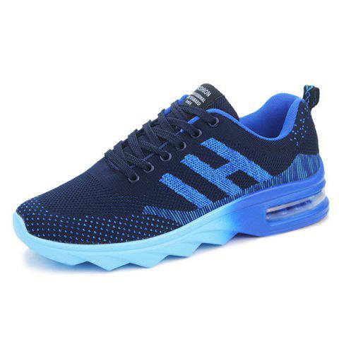 Affordable Breathable Multicolor Athletic Shoes - 40 DEEP BLUE Mobile