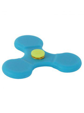 Silicone Tri-Spinner Glow in the Dark Finger Gyro - Pers 7*7CM