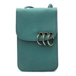 Eyelet Metal Rings Mini Crossbody Bag