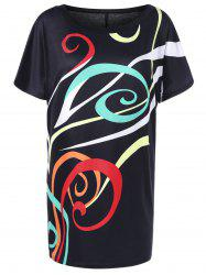 Shift Graphic T-Shirt Dress
