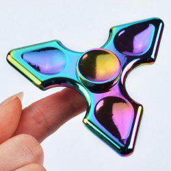 Colorful Metal Hand Fidget Spinner Stress Relief Toy -