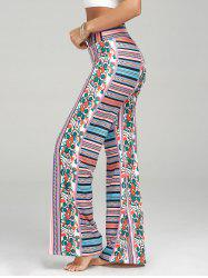 Bohemian Print High Waisted Palazzo Pants