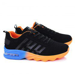 Air Cushion Faux Suede Athletic Shoes