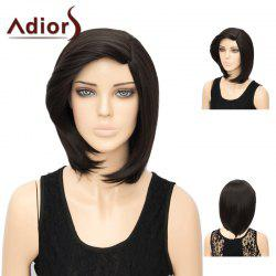 Adiors Side Part Short Silky Straight Synthetic Hair