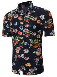 All Over Flowers imprimé chemise hawaïenne - Floral