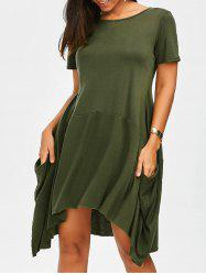 Oversized Asymmetrical Dress